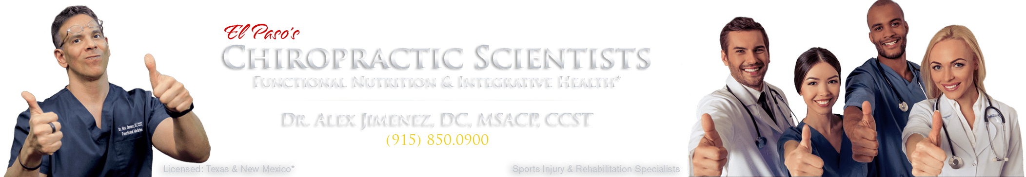 Chiropractic Scientists • 915-850-0900