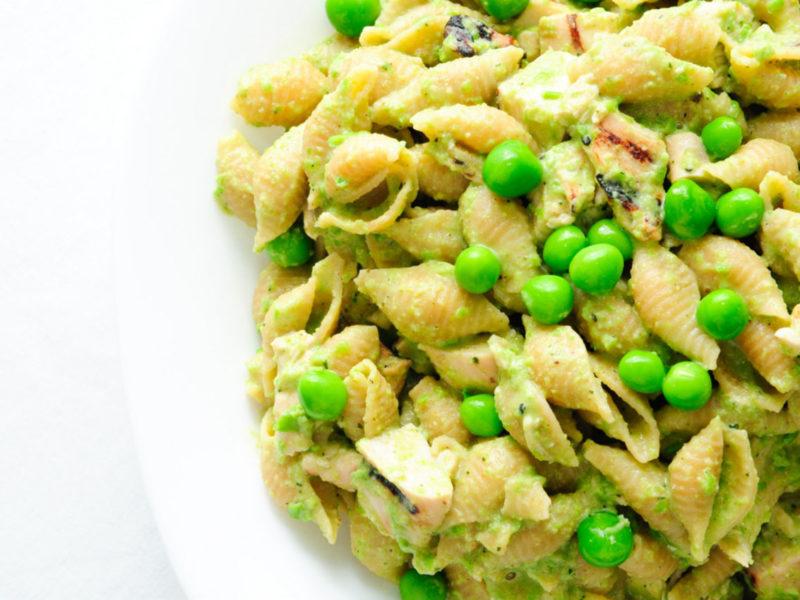 Gluten Free Chicken and Pea Pasta