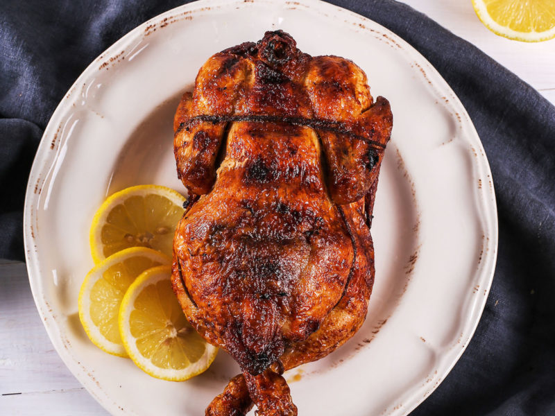 Coconut Lime Roasted Chicken